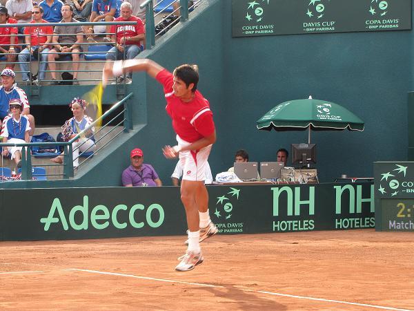 Paul Capdeville | Imagen: Rodolfo Rojas/ Bío-Bío Tenis