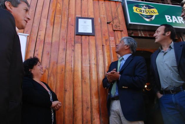 Reconocimiento a Bar Restaurant, ex Dominó