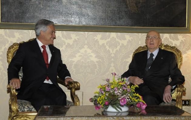 Piñera y Napolitano en Italia | fotopresidencia.cl