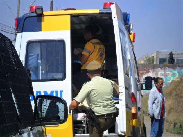 Volcamiento en Talcahuano | Juana Bastias