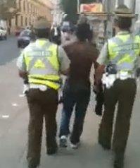 Detención en Santiago