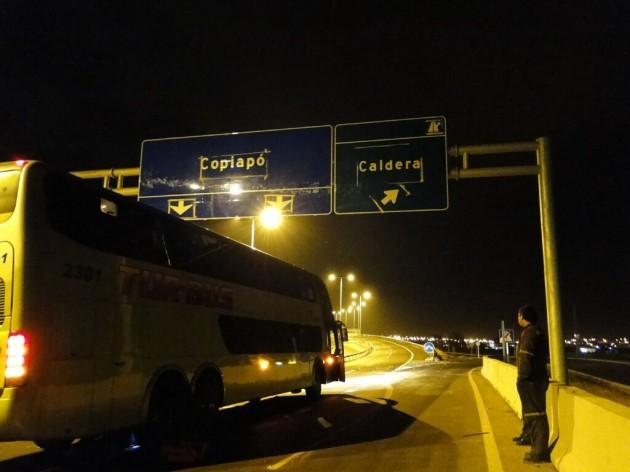 Pescadores se toman ruta doble vía Caldera-Copiapó en Ruta 5 Norte / Agustín Lepe