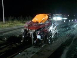 Accidente de tránsito en ruta 5 Sur | Foto: Sergio Osses