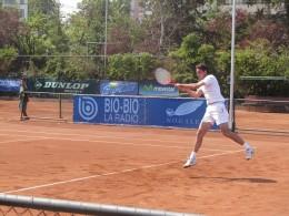 Riccardo Ghedin   Imagen: Simón Collado - Bío-Bío Tenisº