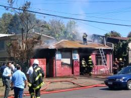 Incendio en Temuco | Foto: Carlos Martínez