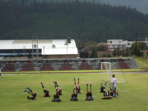 Práctica de la Selección Chilena Sub-17 | Imagen: Cristián Alvarado