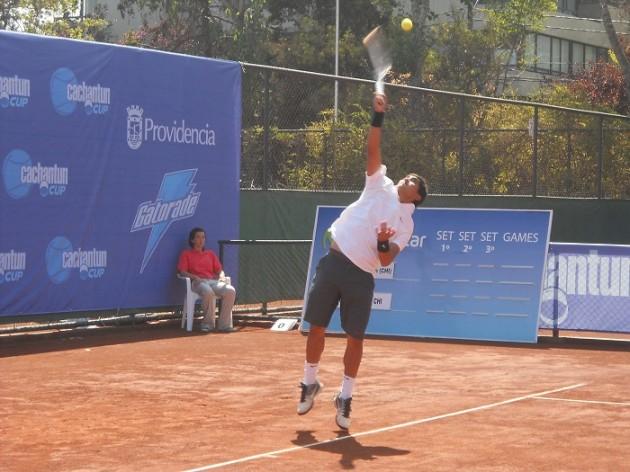 Guillermo Rivera | Imagen: Simón Collao / Bío-Bío Tenis