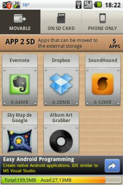 App 2 SD Free