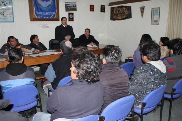 Reunión en la ANFA de Los Ángeles