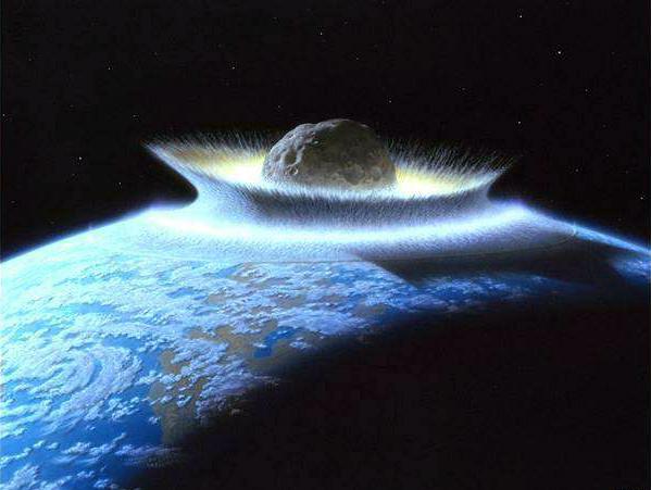Pintura de impacto de meteorito   NASA