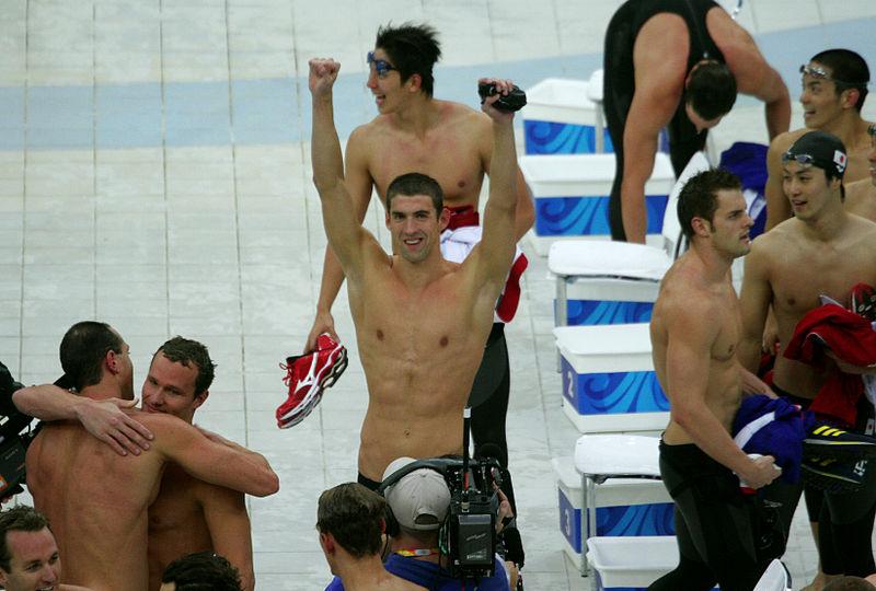 Michael Phelps | Wikimedia (Cc)