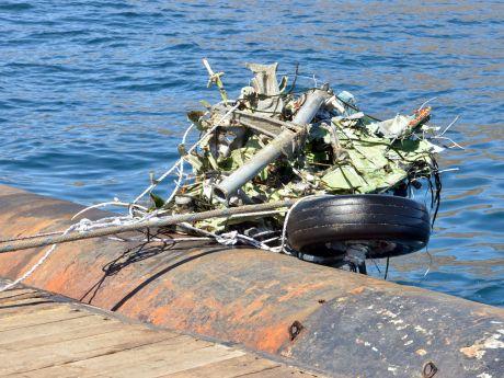 Rescate de restos del CASA 212