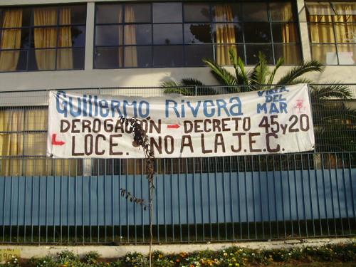 Toma del liceo Guillermo Rivera | Fotolog