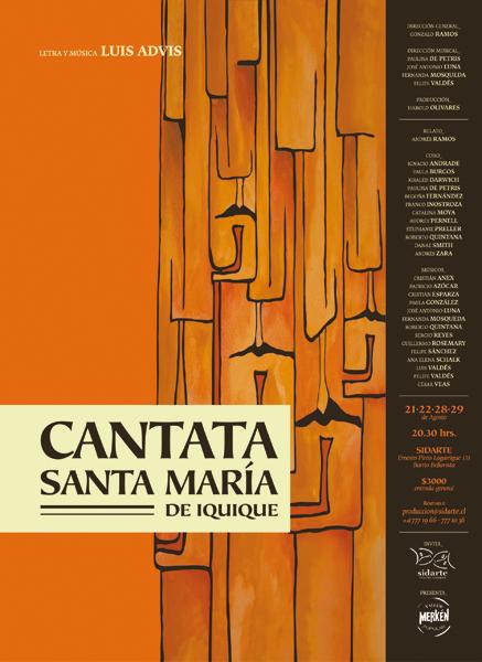 """Taller Popular Merkén. Cantata """"Santa María de Iquique"""""""
