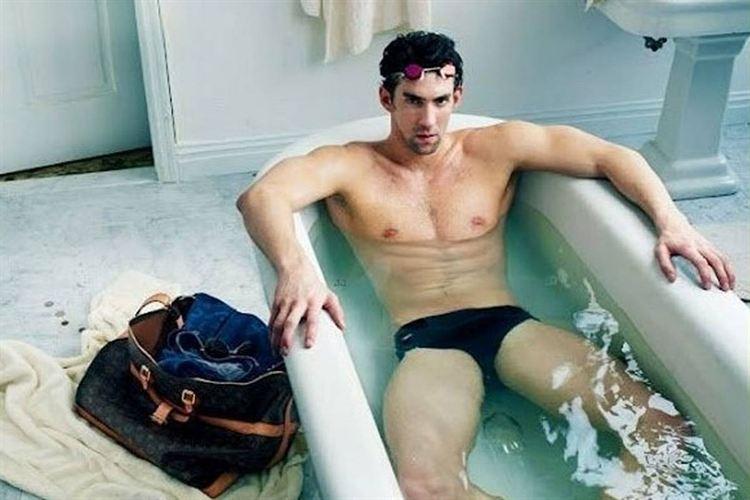 Phelps en campaña de Louis Vitton