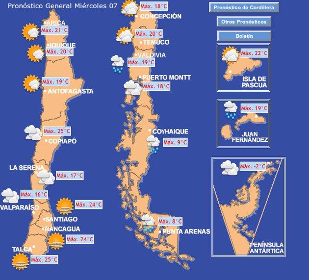 www.meteochile.gob.cl