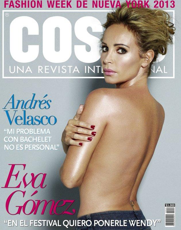 Eva Gómez Se Desnuda En Portada De Revista A Días Del Festival