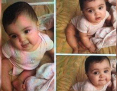 La bebé que protagonizó el hecho | NBC