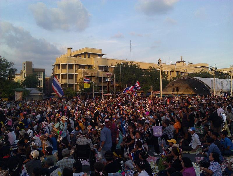 Protestas en Bankok | ilf_ (cc)