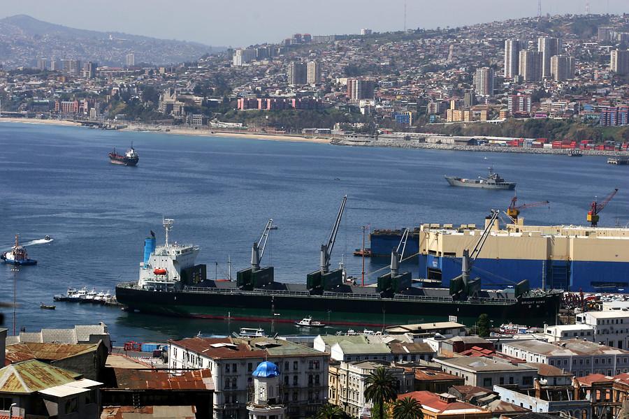 Puerto de Valparaíso | Cristian Opazo/Agenciauno