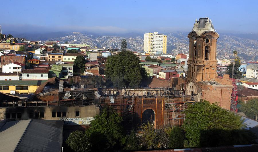 Siniestrada iglesia de San Francisco | Pablo Ovalle/agenciaUNO