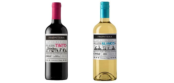Concha y Toro, vinos Frontera Specialties