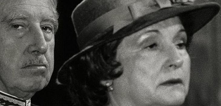 Detalle de la portada de Doña Lucía