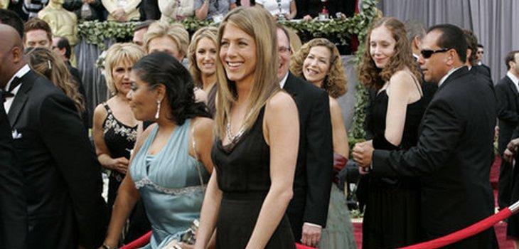 Jennifer antes de su corte de pelo | Oscar.go.com