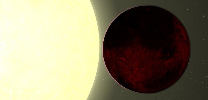 Representación de Kepler-78b   Hemsley Jenkins (CC)