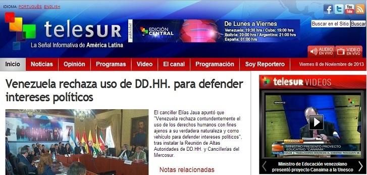 www.telesurtv.net