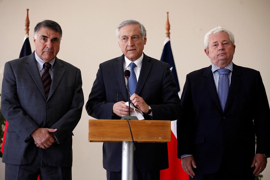 Francisco Marambio (a la derecha) | Sebastián Rodríguez | Agencia UNO