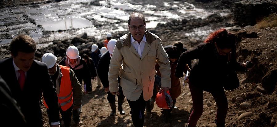 Ministro Alberto Undurraga   Agencia UNO