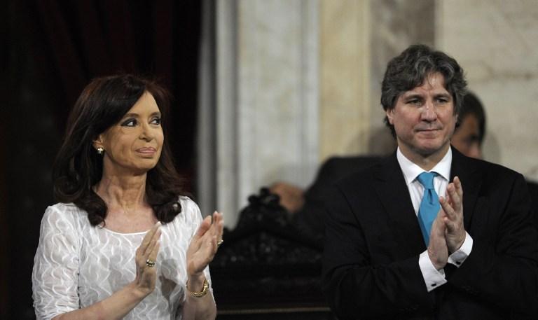 Cristina Fernández y Amado Boudou | Juan Mabromata/AFP