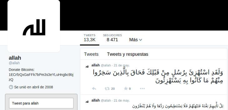 La cuenta del sentenciado   Twitter