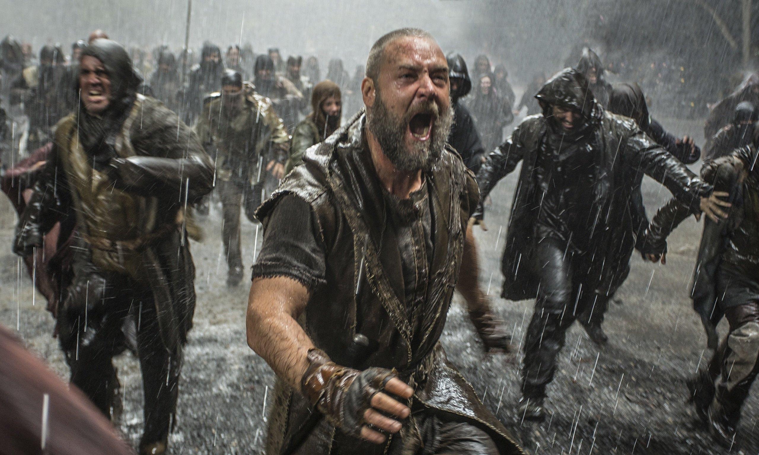 Russell Crowe en el Arca de Noé