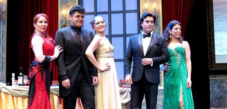 El quinteto de cantantes, Teatro Municipal de Las Condes