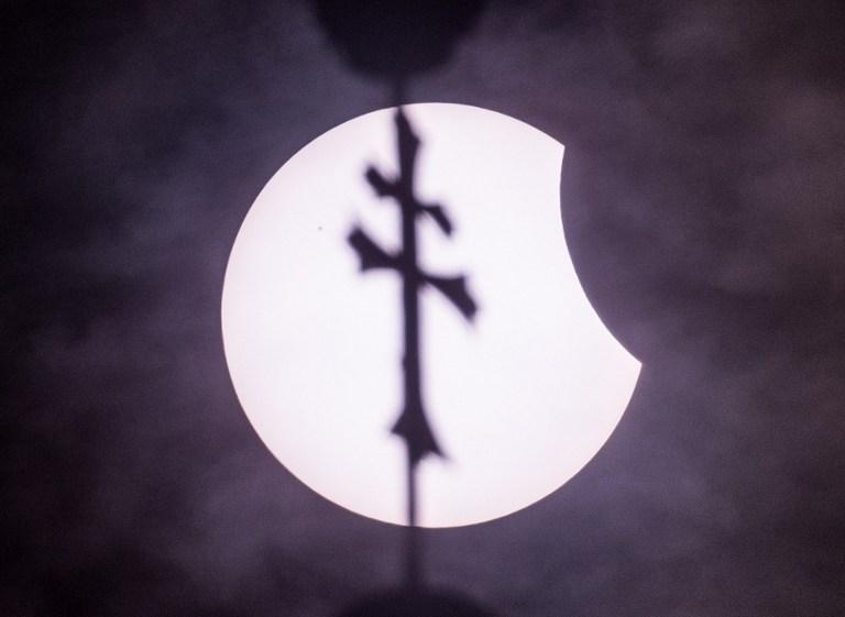 Eclipse en Alemania   Patrick Pleul   DAP   AFP