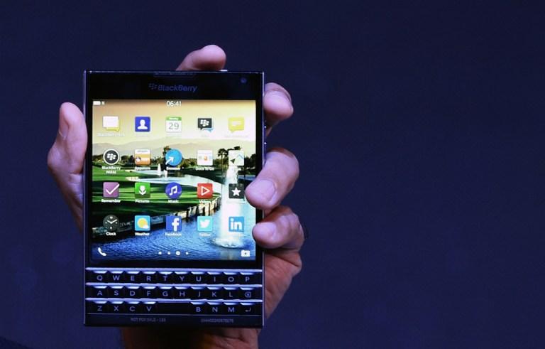 La Blackberry Passport | AFP