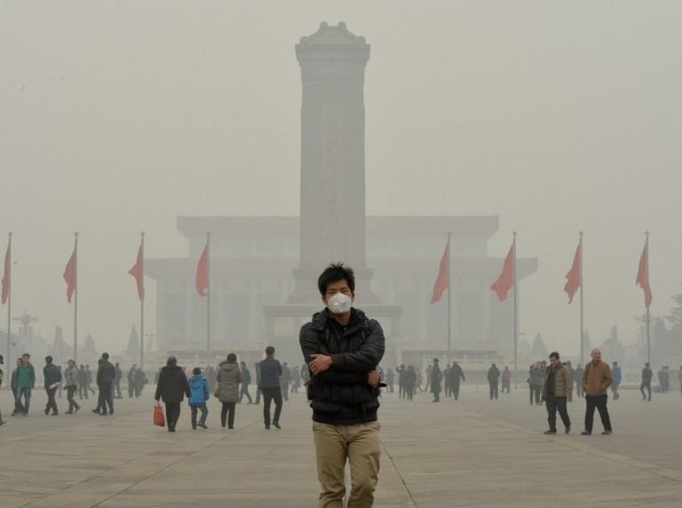 Contaminación en China | Mark Ralston | AFP