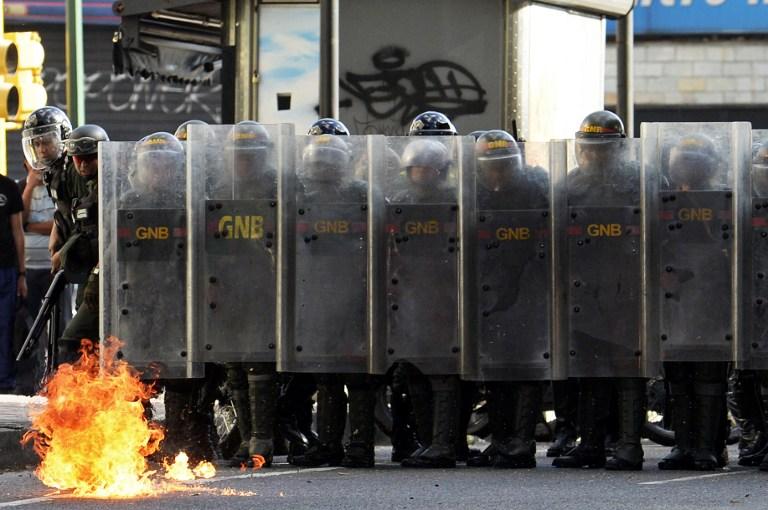 Manifestaciones en Venezuela | Federico Parra | AFP