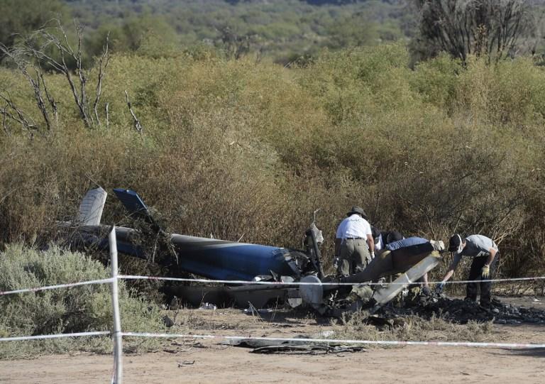 "Accidente en ""Dropped"" | Juan Mabromata | AFP"