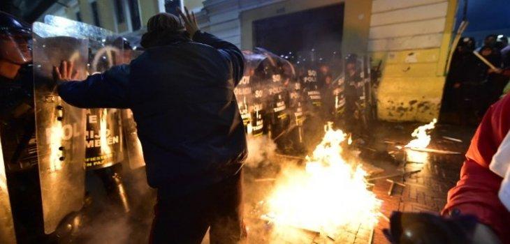 Protestas en Ecuador   Rodrigo Buendía   AFP
