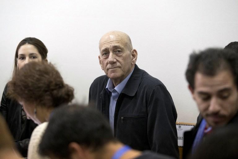 Ehud Olmer | Abir Sultan | POOL | AFP