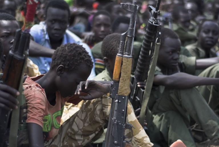 "Niños ""soldados"" en Sudán | Charles Lomodong | AFP"