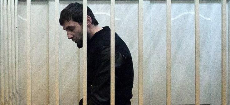 Zaur Dadayev, acusado de asesinato al opositor ruso Nemtsov / AFP Photo