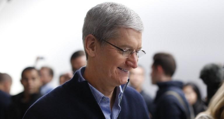 Tim Cook, CEO de Apple | AFP