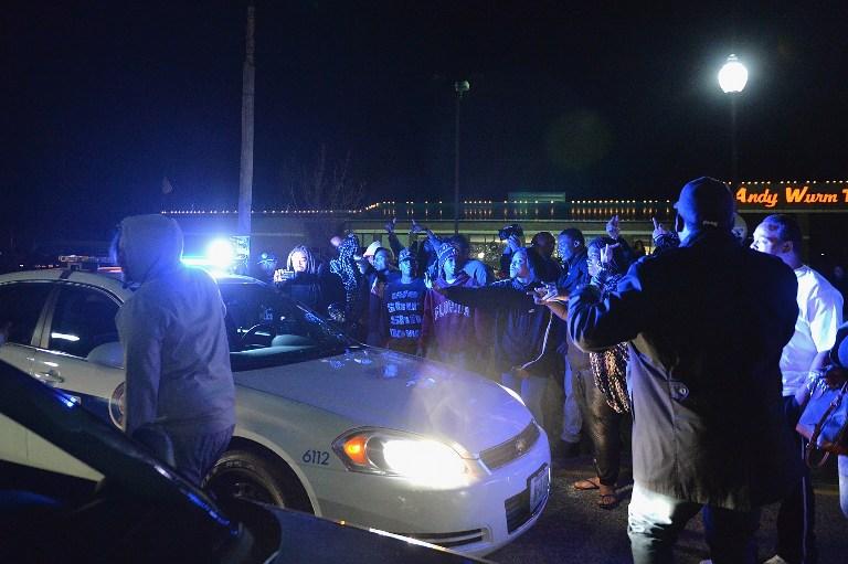 Protestas en Ferguson | Michael B. Thomas | Getty Images North America | AFP