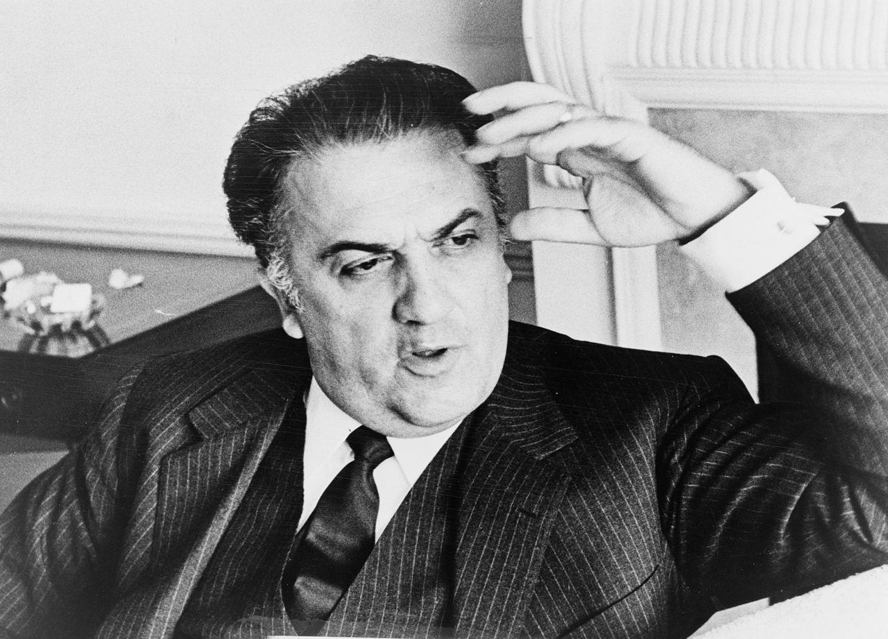 Federico Fellini l Walter Albertin