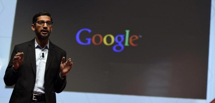 El vicepresidente de Google, Sundar Pichai | AFP Photo