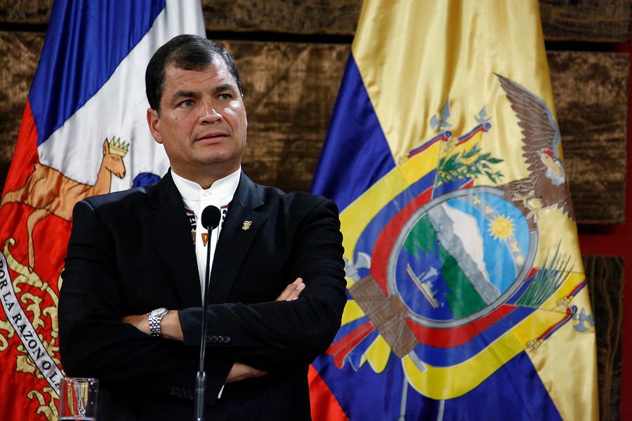 Rafael Correa   Sebastián Rodríguez   Agencia UNO